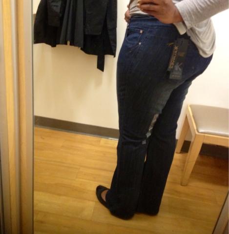 Dressing Room Kardashian Kurves Khloe Boot Cut Jeans