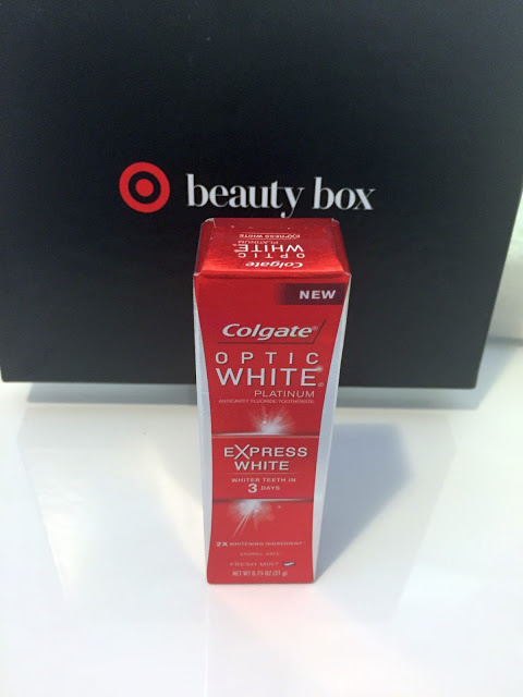Colgate Optic White Review >> {Beauty} Review: Colgate Optic White Platinum Express White Toothpaste #TargetStyle • Curvatude