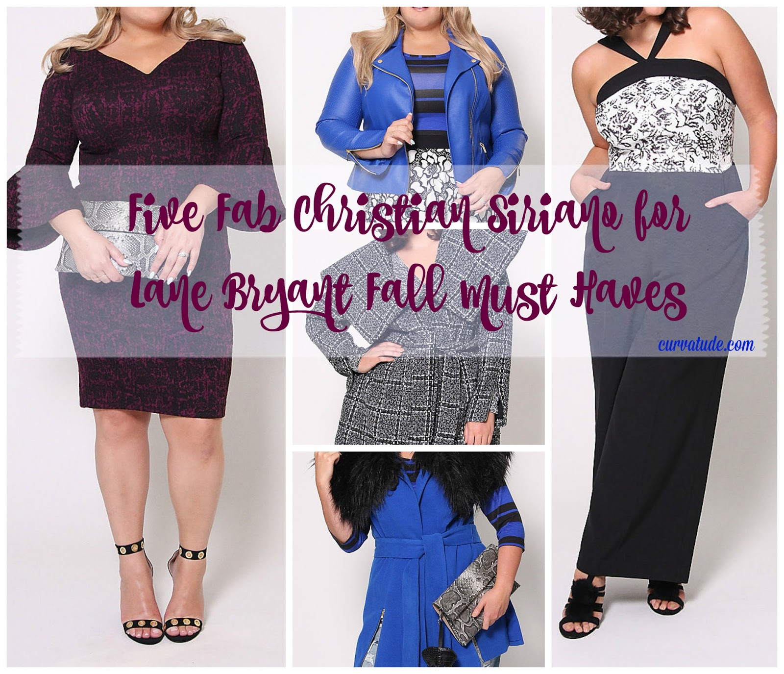 c365f48cdf5  Five Fab  Christian Siriano for Lane Bryant Fall Collection Must Haves •  Curvatude