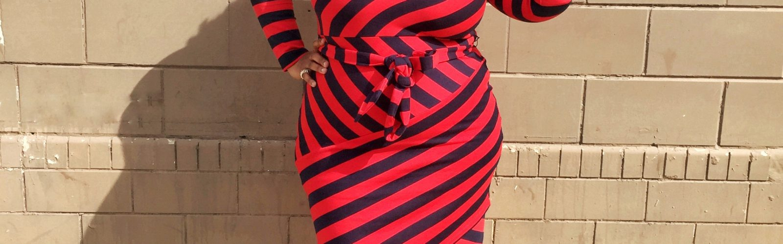 {What I Wore} Stripes & Curves Forever