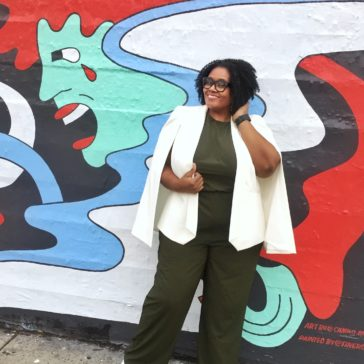 {What I Wore} Easy Jumpsuit Living