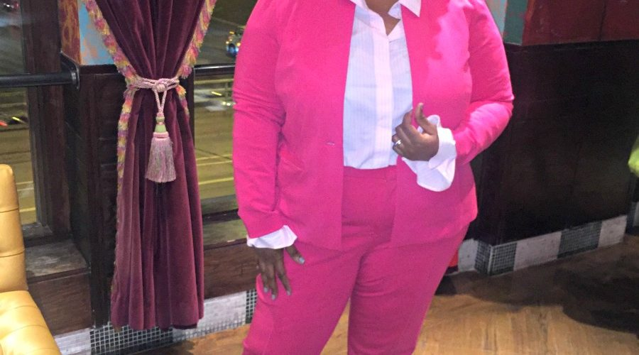 {What I Wore} Pink Power Suit