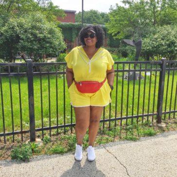 {What I Wore} Rompin' Around in Bright Yellow
