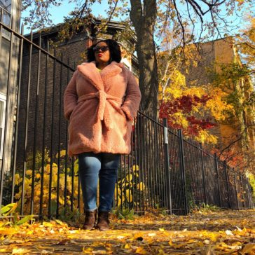 {What I Wore} Fuzzy Fab Teddy Bear Coat
